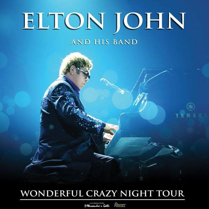 Elton John Wonderful Crazy Tour 2016