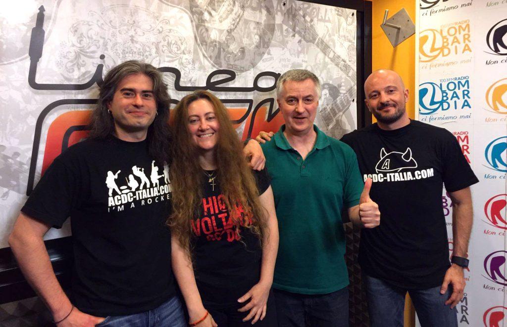 21 Giugno 2016: AC/DC ITALIA a LINEA ROCK!