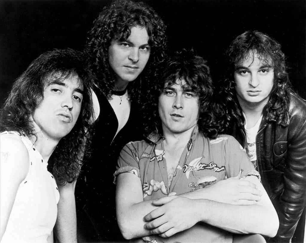 I Y&T nei primi anni 80 con un giovanissimo Leonard Haze (ultimo sulla destra) e accanto a lui Phil Kennemore, bassista originale della band, anch'egli scomparso il 7 Gennaio 2011 a soli 57 anni...