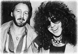 Peter Criss e Eric Carr 1983