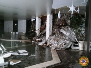 cnsas 14 Interno Hotel Rigopiano