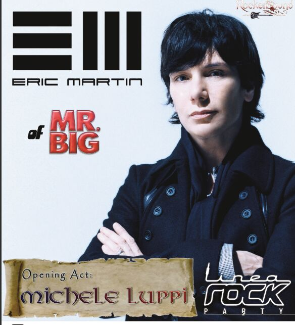 Eric Martin + Michele Luppi 2017 Blue Rose