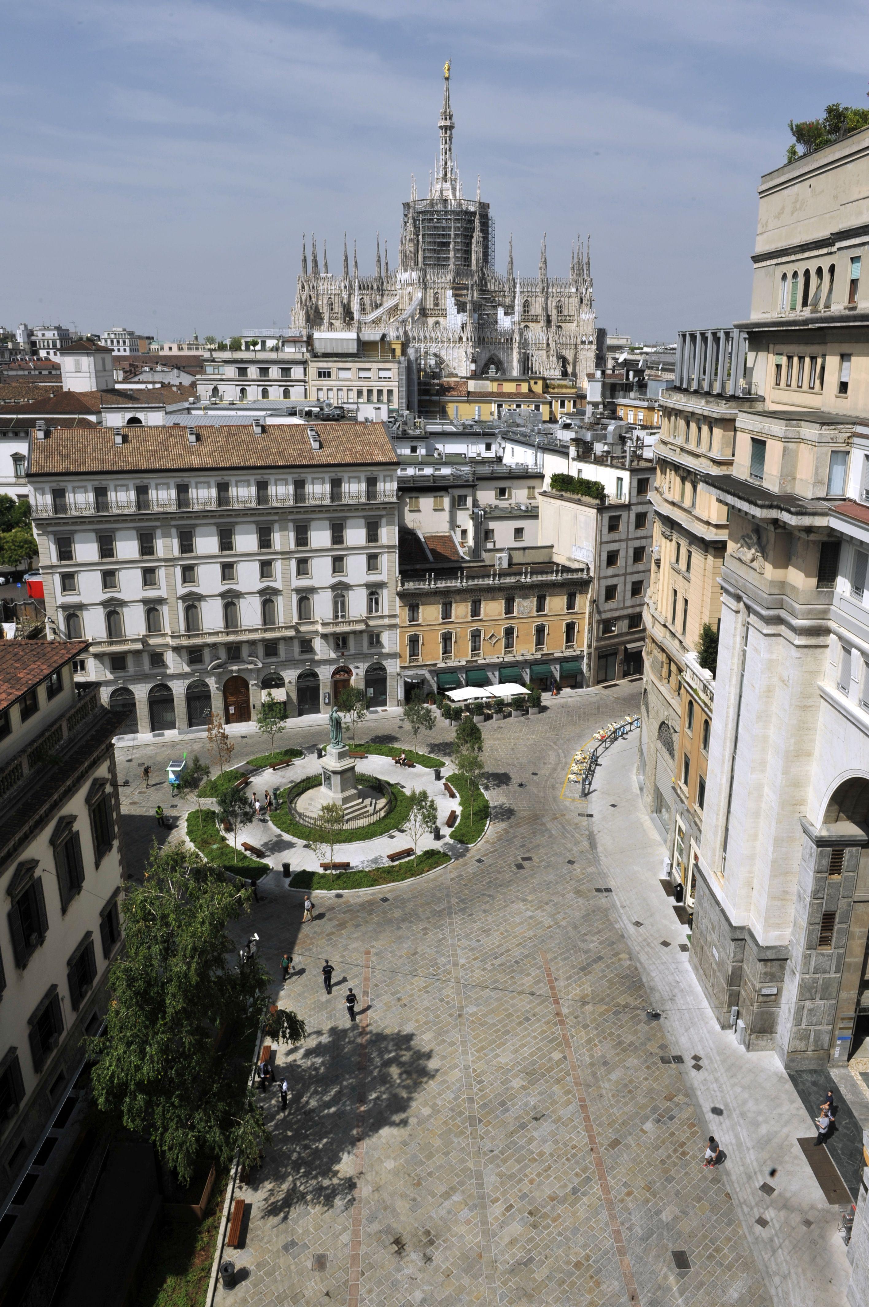 milano piazza beccaria ha un nuovo volto radio lombardia