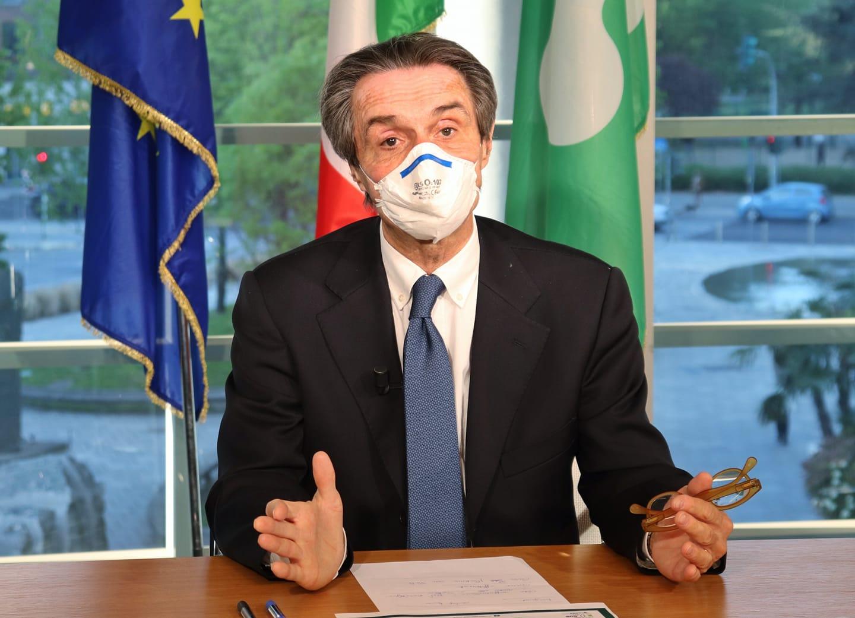 Coronavirus Fontana Firma Nuova Ordinanza Resta Obbligo Mascherina Al Chiuso Radio Lombardia